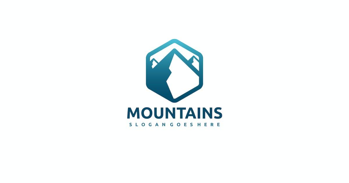 Mountain Logo by 3ab2ou