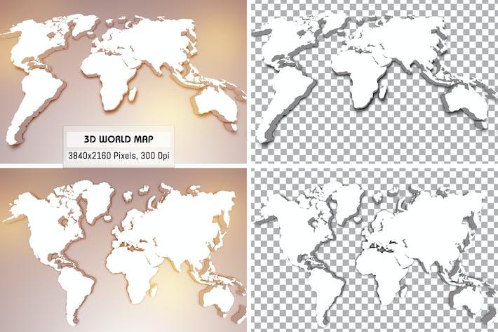Thumbnail for 3D World Maps