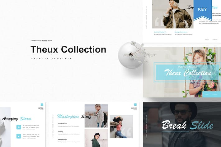 Thumbnail for Theux Collection | Keynote Template