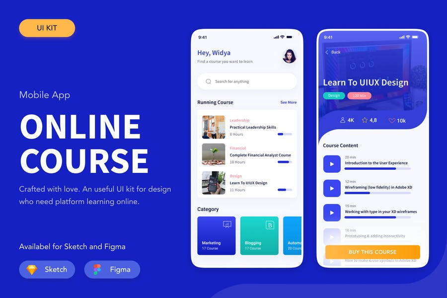 Online Course Figma Sketch