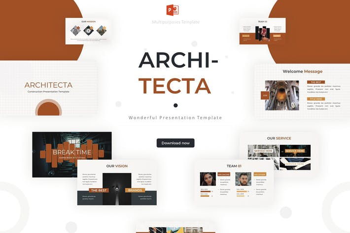 Thumbnail for Architecta - Powerpoint Template