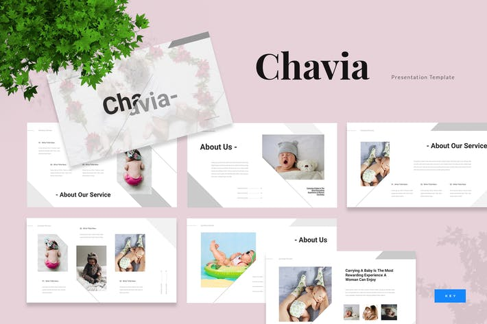 Thumbnail for Chavia - Презентация по Keynote ребенком