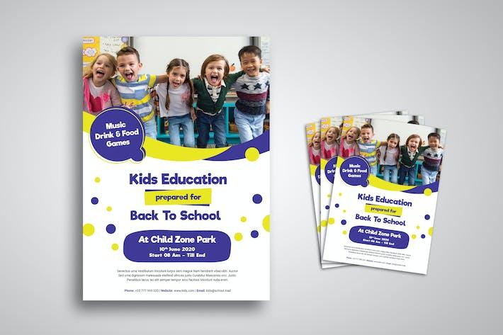 Thumbnail for Kids Education Flyer