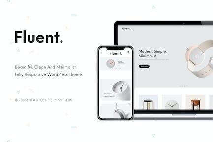 Fluent - Creativo Multiusos WooCommerce Tema