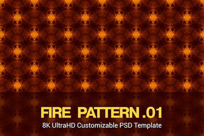 Thumbnail for 8K UltraHD Seamless Fire Pattern Background