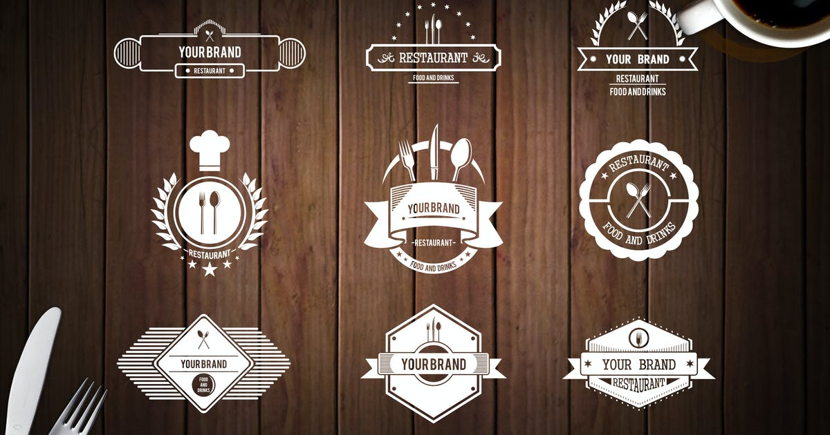 Download Restaurant Logo by vintagio