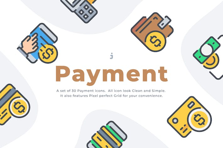 Thumbnail for 30 Payment Method icon set