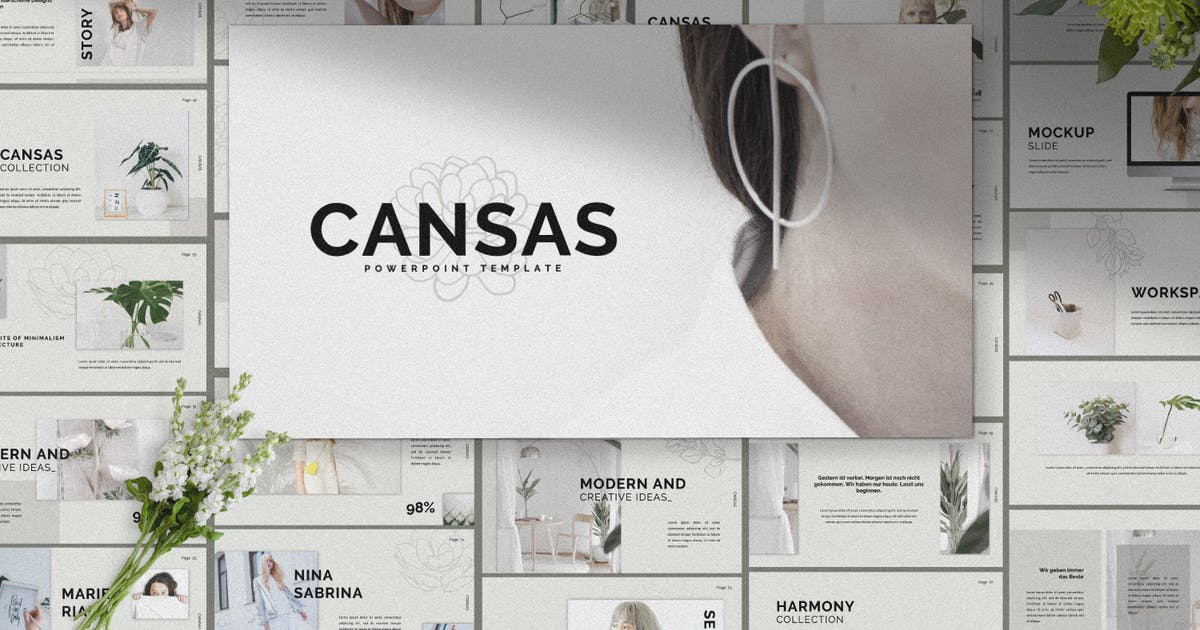 Download Cansas Creative Powerpoint by templatehere