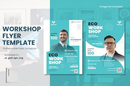 Workshop Event Conference Flyer Template