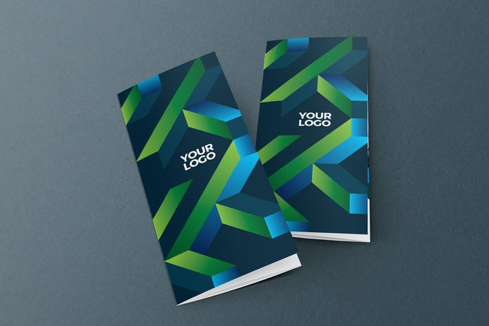 Thumbnail for Cool Modern Colorful Trifold