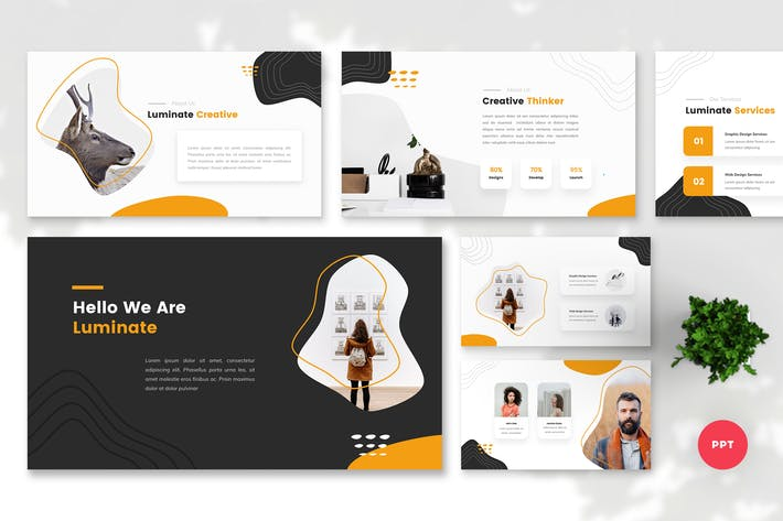 Thumbnail for Luminate - Creative PowerPoint Template