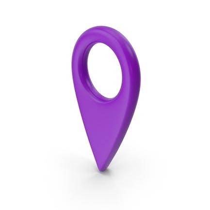Карта Pin Фиолетовый