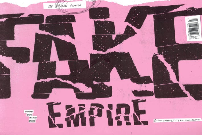 Thumbnail for Fake Empire Font
