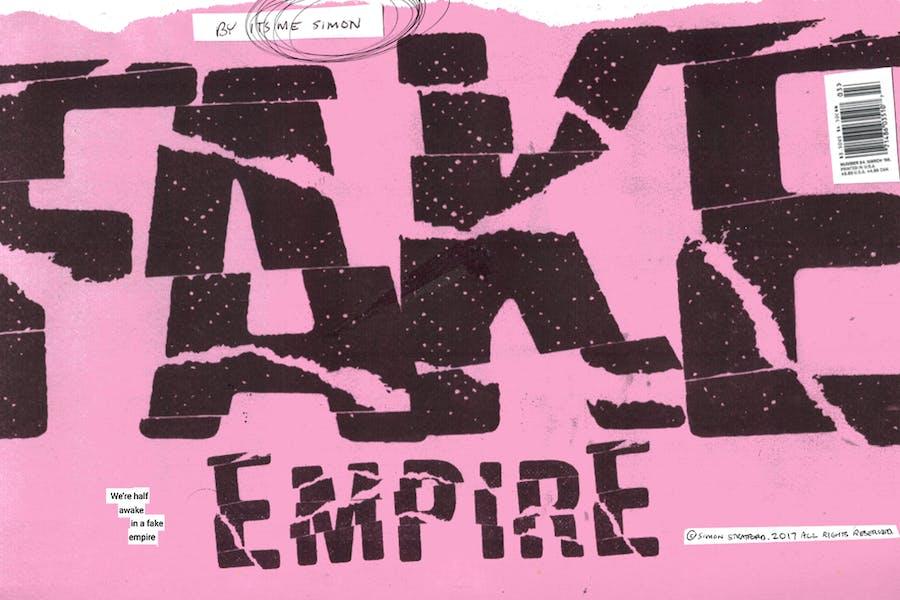 Fake Empire Font