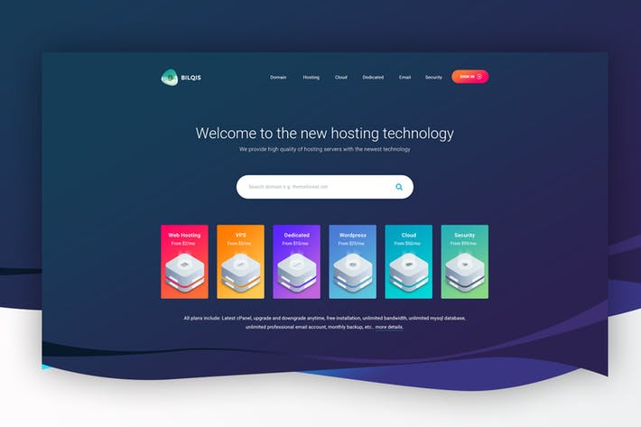 Hero Image - Header for Hosting Website 05