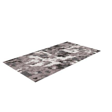 Calavera de alfombra
