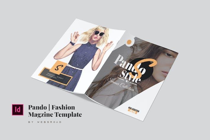 Thumbnail for Pando   Fashion Magazine Vorlage