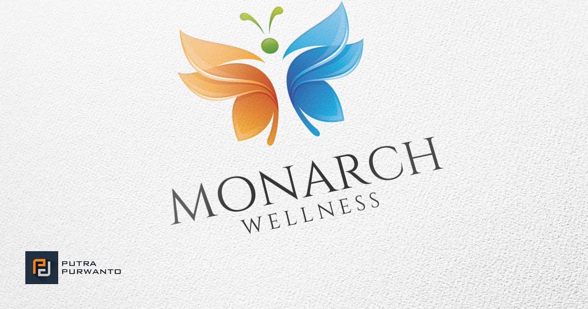 Download Monarch Wellness - Logo Template by putra_purwanto
