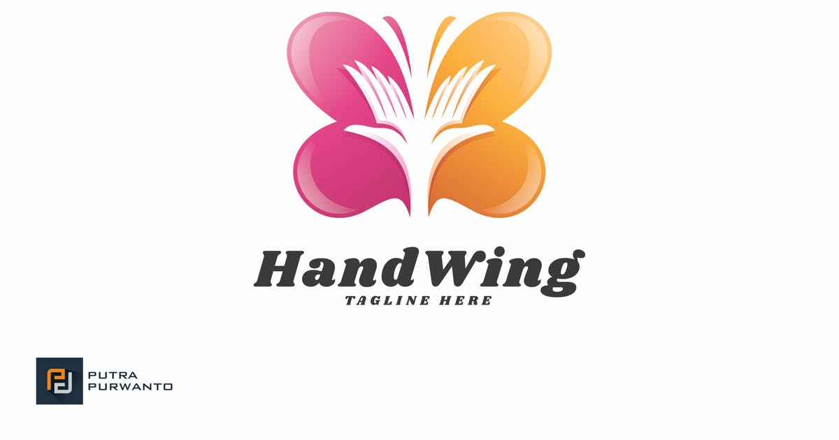 Download Hand Wing - Logo Template by putra_purwanto
