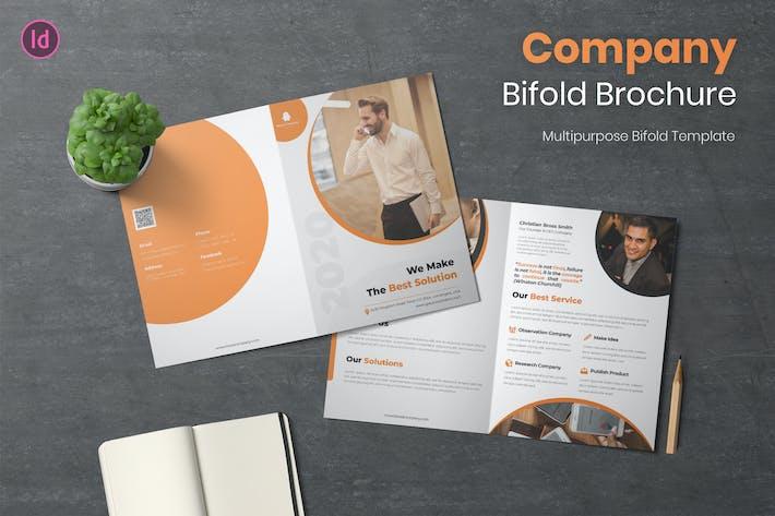 Thumbnail for Firmen-Bifold Broschüre