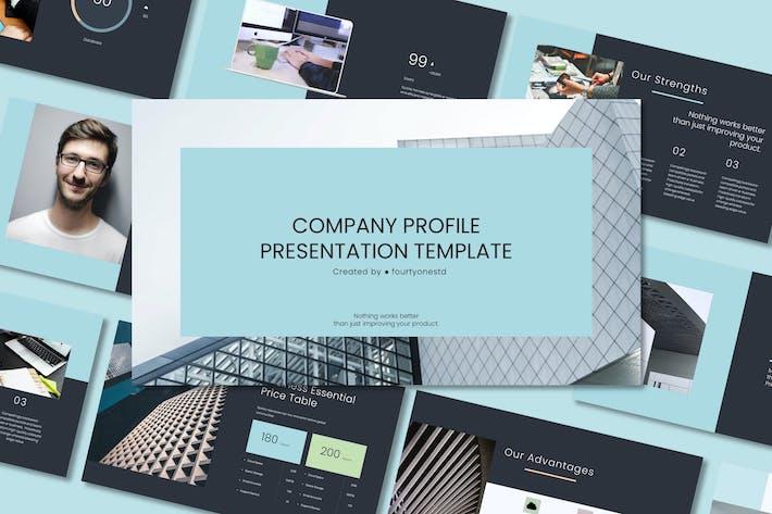 Company Profile Presentation - Powerpoint