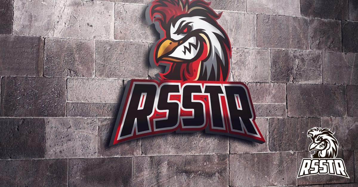Download Rooster Mascot Esports Logo by Suhandi