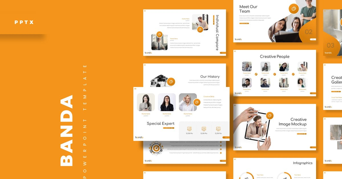 Download Banda - Powerpoint Template by aqrstudio