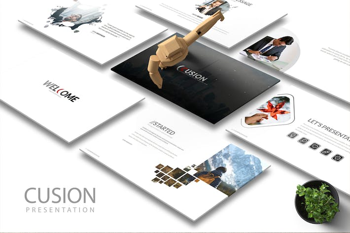 Cover Image For CUSION Powerpoint