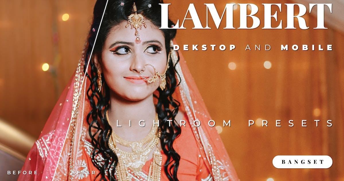 Download Lambert Desktop and Mobile Lightroom Preset by Bangset