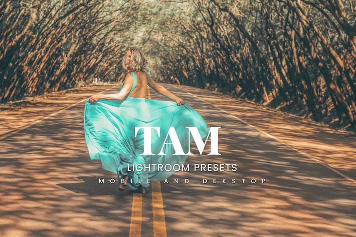 Tam Lightroom Presets Dekstop and Mobile