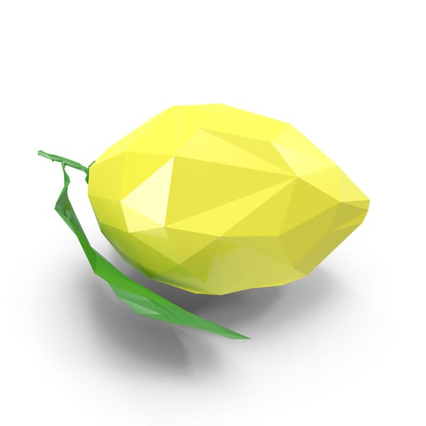 Thumbnail for Low Poly Lemon