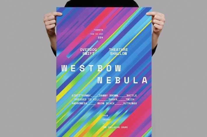 Thumbnail for Póster de la nebulosa Westbow