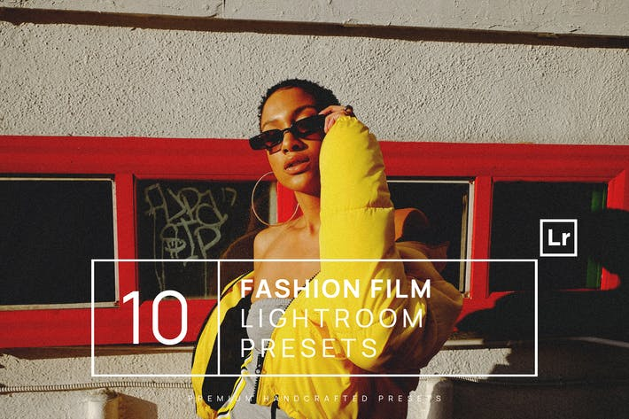 Thumbnail for 10 Fashion Film Lightroom Presets + Mobile