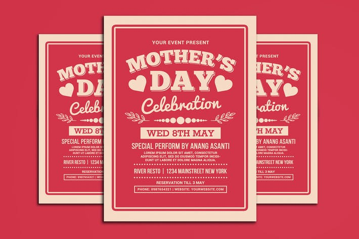Thumbnail for Mother's Day Celebration Typography Style