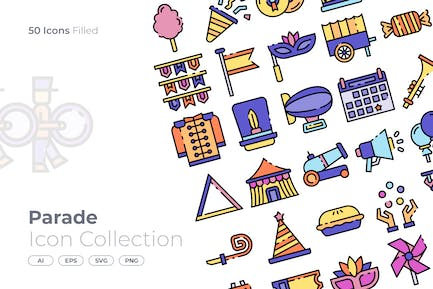 Parade Filled Icon