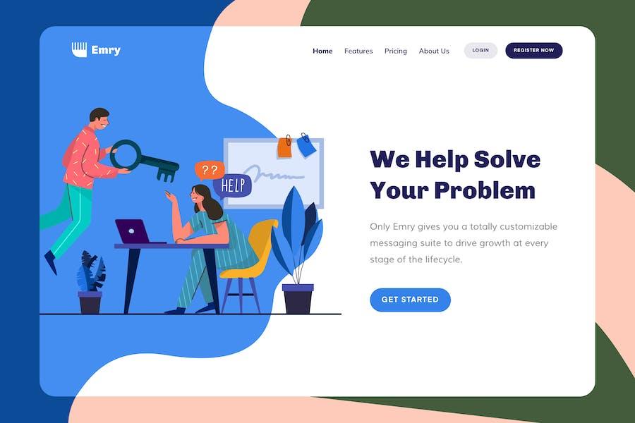 Emry - Help Header
