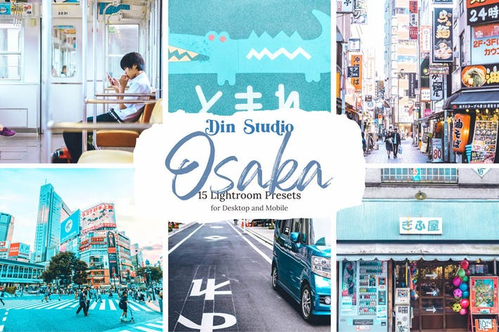 Thumbnail for Osaka Lightroom Presets