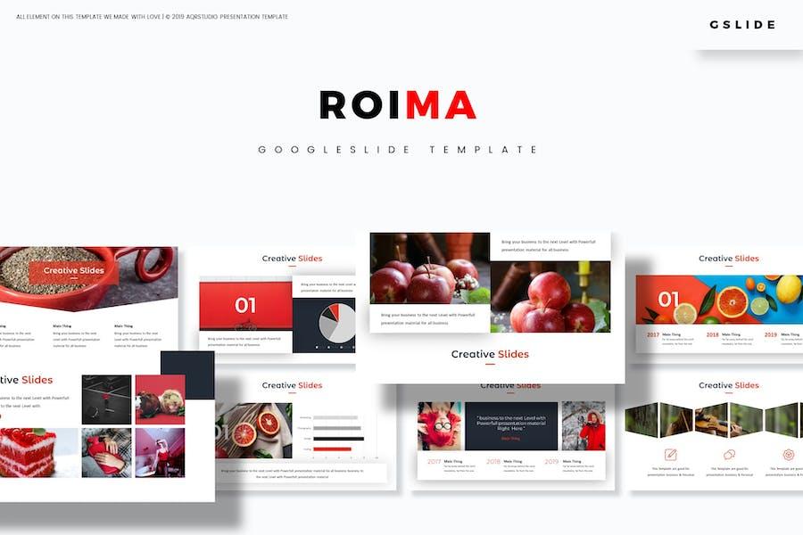 Roima - Google Slides Template