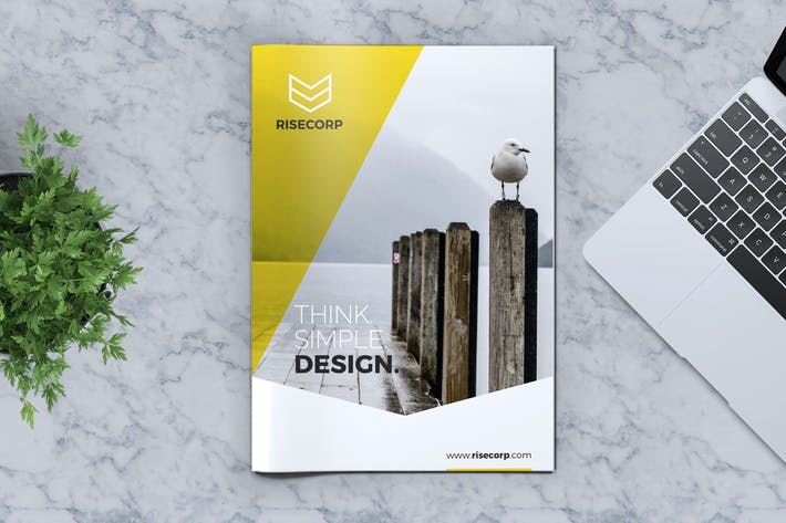 Thumbnail for Creative Brochure Template Vol. 20