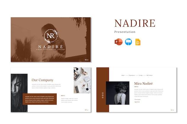Nadire - Presentation Template
