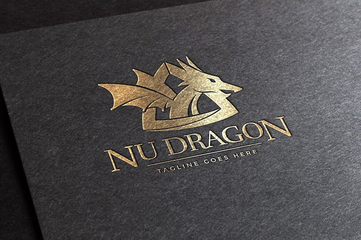 Thumbnail for Nu Dragon Logo Template