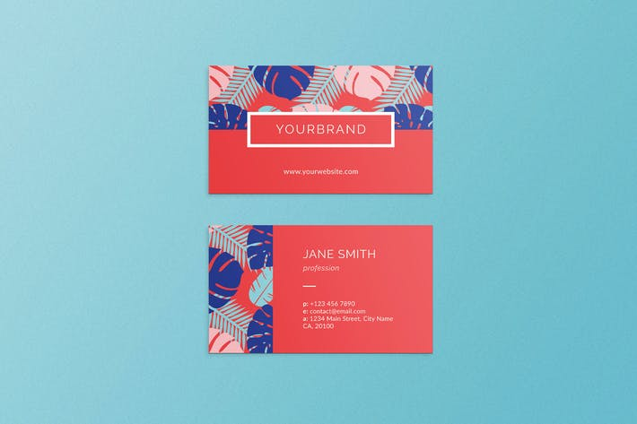 Thumbnail for Summer Business Card