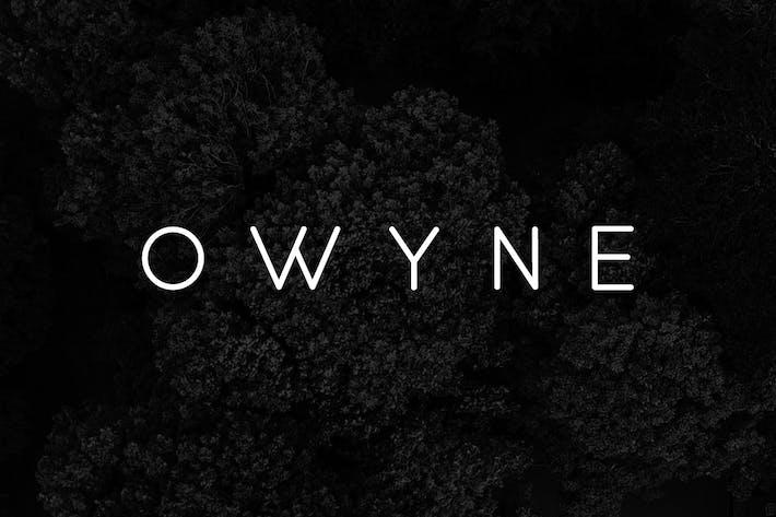 OWYNE - Modern Fashion / Stylish Typeface