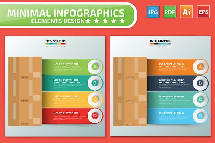 Thumbnail for Box Infographics design