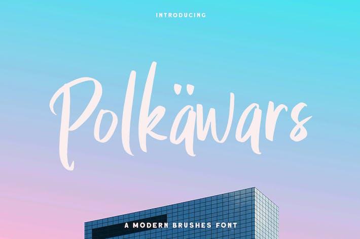 Thumbnail for Polkawars Hand Writing Sans