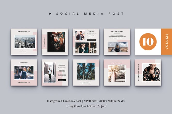 Thumbnail for Social Media Post Vol. 10