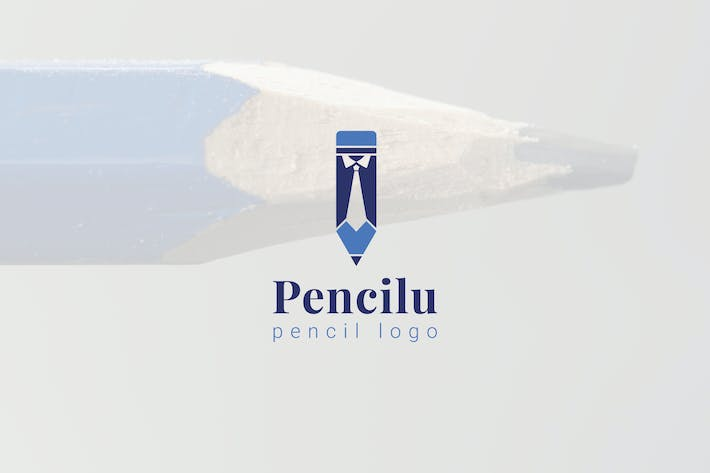 Thumbnail for Pencilu : Pencil Logo