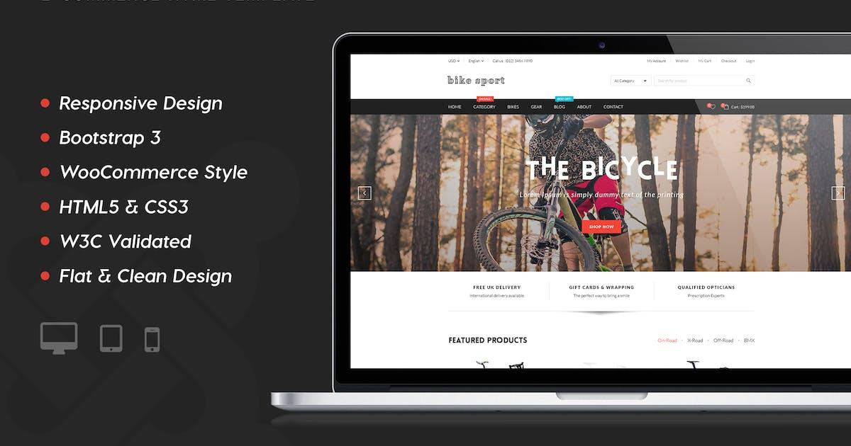 Bike Shop - HTML Shop Template by plazart