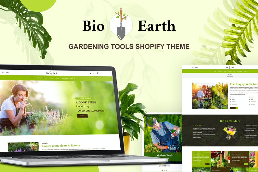 Bio Earth - Landscaping & Gardening Services Shop