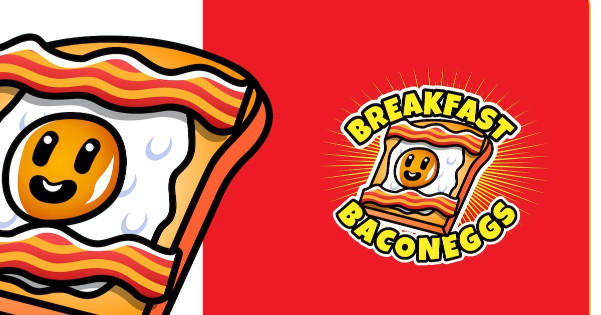 Download BREAKFAST EGG - Mascot & Esport Logo by aqrstudio